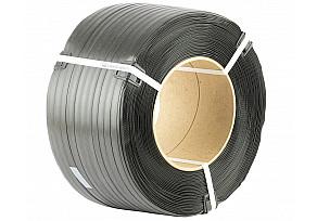 Лента полипропиленовая черная 15*0,6- 2000м