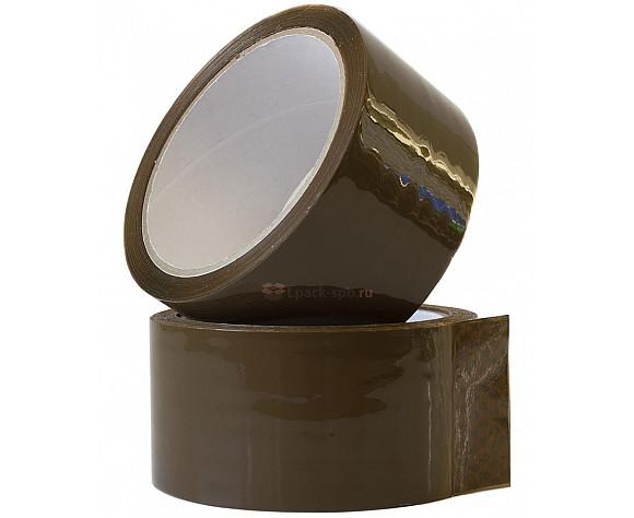 Скотч упаковочный коричневый 48мм*60м 50мкм