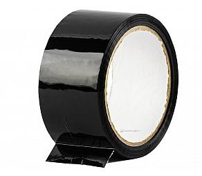 Скотч упаковочный черный 48мм*50м 45мкм