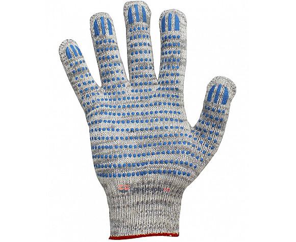 Перчатки хб белые - 6 Нитей 7,5 кл.